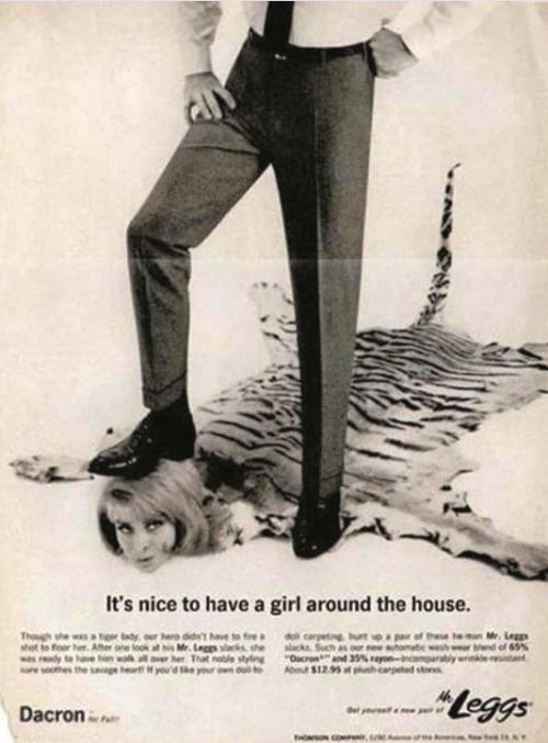 Vieilles publicités sexistes