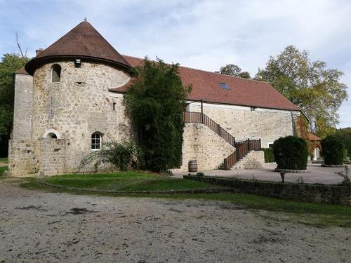 balade en seine et marne au Chateau du Vivier à Fontenay Tresigny