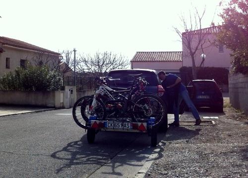 Raid VTT Figeac Départ