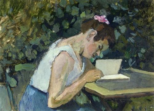 07 - Femmes lisant- Peintures 20eme jusqu'à aujourd'hui
