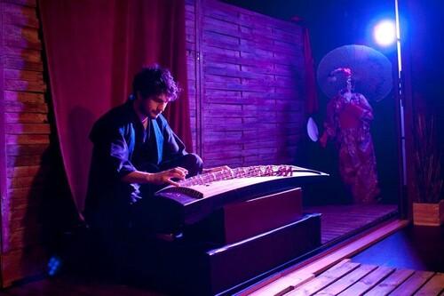 """Théâtre pour les enfants """"Hashigakari"""""""