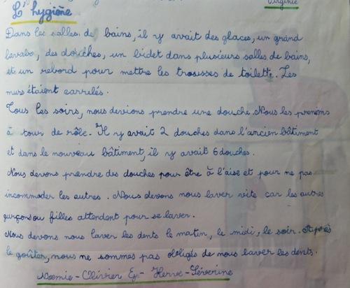 En classe de découverte à Vassieux (2)