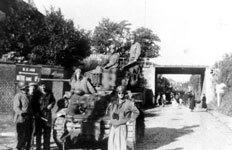 Char américain le 31 Aout 1944