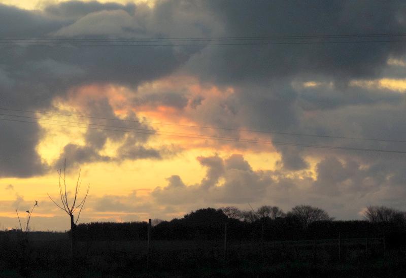 Coucher de soleil en Nord Finistère...