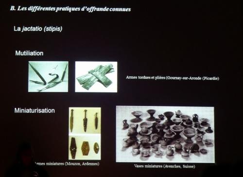 """""""Les offrandes dans les sanctuaires gaulois et gallo-romains bourguignons"""", une conférence de Samantha Heitzmann pour les Amis du Musée du Pays Châtillonnais-Trésor de Vix"""