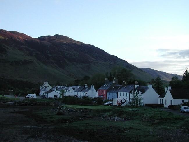 village écossais