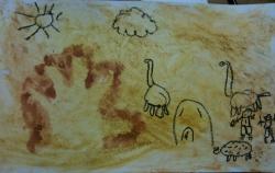 Arts visuels : au temps de la préhistoire.