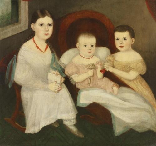 13 - Trois soeurs en peinture, 19 ème