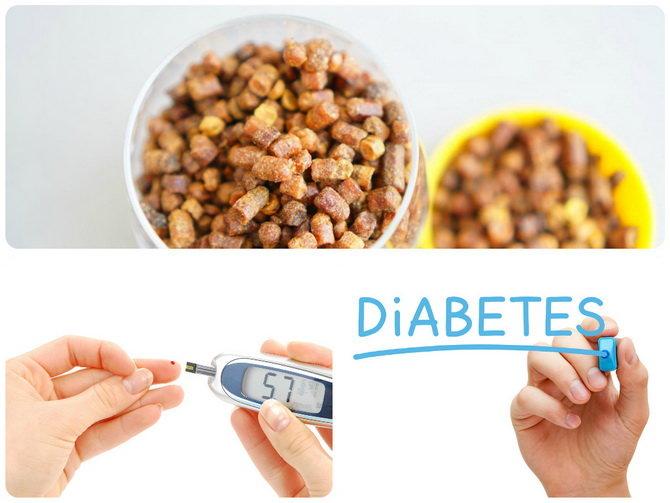 Как перга помогает от диабета