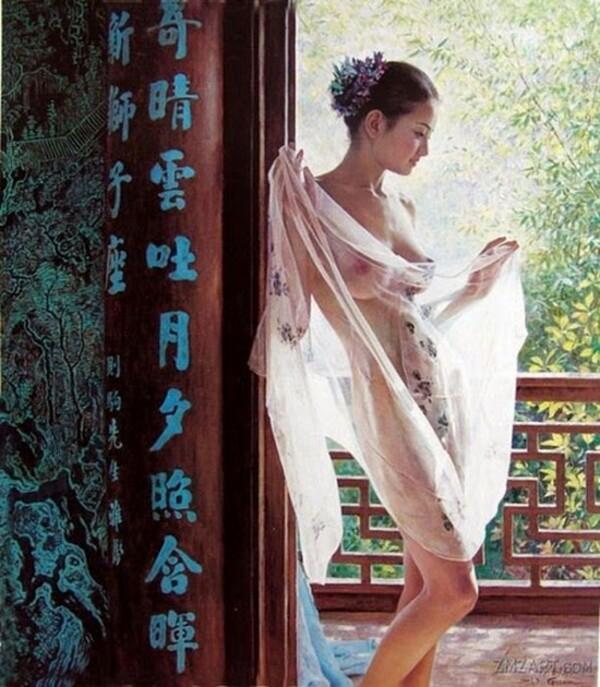 Peinture de : Guan Zeju