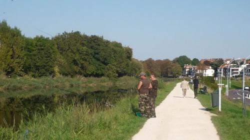 Canal de Jouy et plan d'eau (25 septembre 2011)