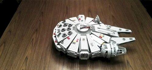 Falcon Millenium de Star Wars en Lego