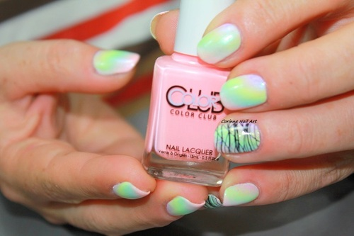 "Dégradé Color Club ""pastel néon"""