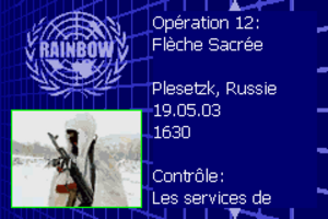 Rainbow Six Rogue Spear #12 Flèche Sacrée