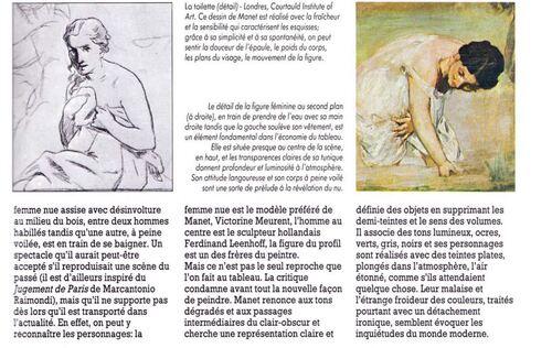 """""""Le déjeuner sur l'herbe"""" de Edouard Manet."""