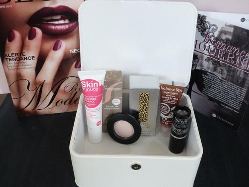 Glossybox de novembre Romance Moderne