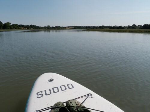 La rivière de Noyalo en SUP