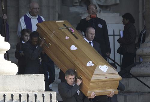 Christophe de Marjorie/ Société Total/Haute société/Obsèques