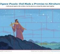 God Made a Promise to Abraham—Jigsaw Puzzle