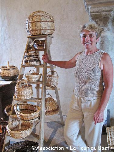 Michelle Vailleau, vannière : création et re-création