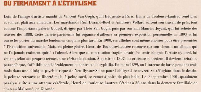 Dessin et peinture - vidéo 3217 :  Henri de Toulouse-Lautrec ( Un grand maître du courant impressionniste ) - bande dessinée.