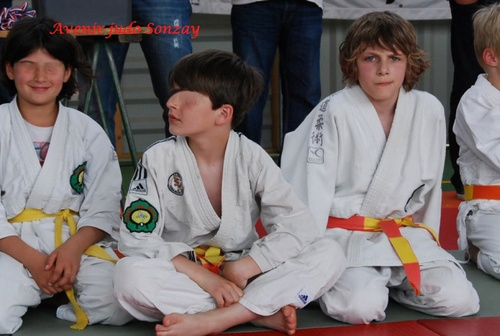 COMPETITION JUDO  A SONZAY