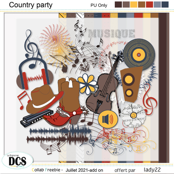 Country party chez DCS
