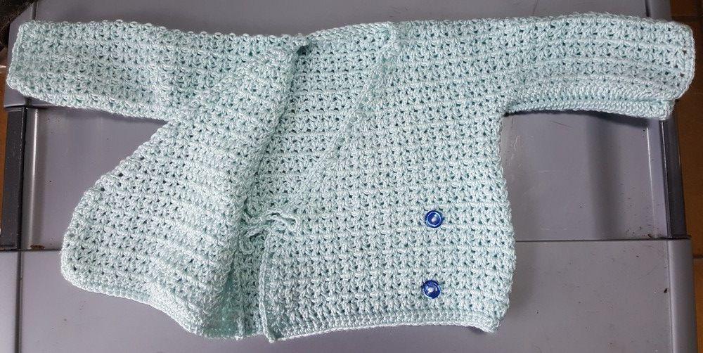 Mes petits cadeaux tricotés pour Valentine...