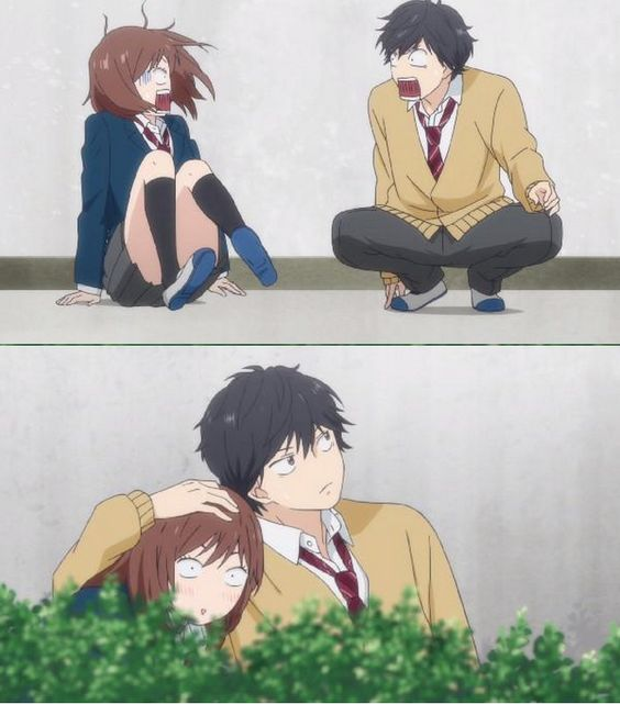 Blue Spring Ride... I died laughing at this one xD: