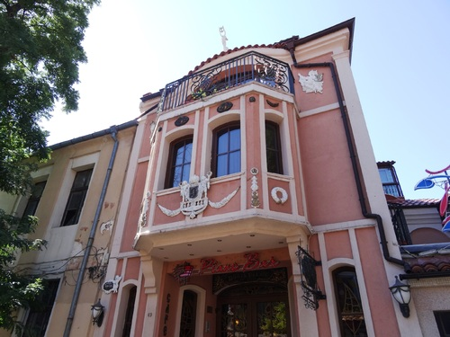 Plovdiv en Bulgarie: la ville haute (photos)