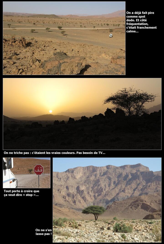2014 : luminothérapie hivernale au Maroc