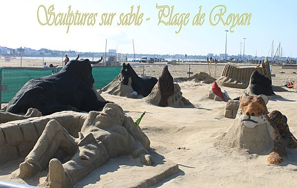 sculptures en sable à Royan-0-