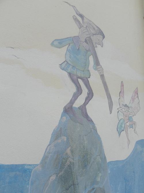 Fresques murales à Tenay