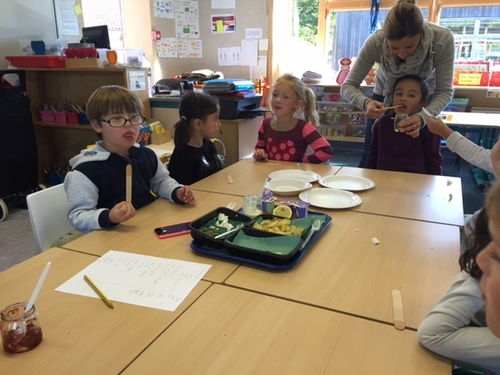 La semaine du goût en maternelle