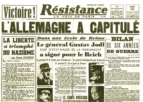 8 mai 1945 : La France libre !