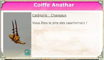 Coiffe Anathar