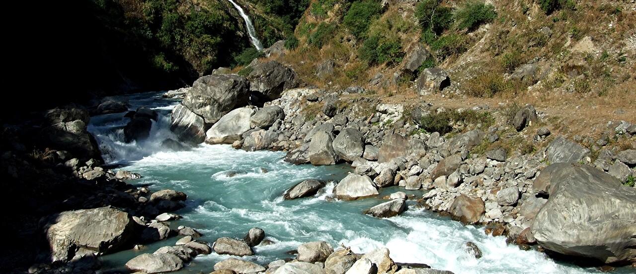 6-0 / le tour des Annapurnas . En route vers le col du Thorong