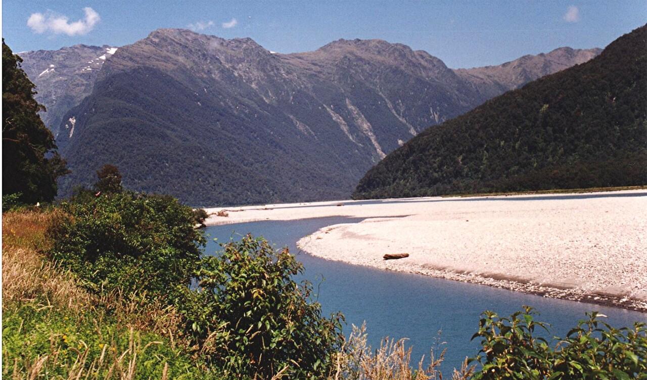 Nouvelle Zélande / 4 / De Wanaka à Haast , une route mythique