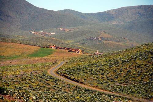 Quelques beaux petits village au milieu des plantations