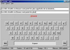 Dactylo 6.0 : Dictactitiel d'apprentissage du clavier