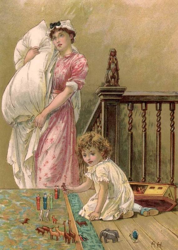 CP  Anciennes  FEMMES  Et  ENFANTS