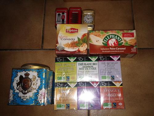 Pince à thé ou boule à thé?