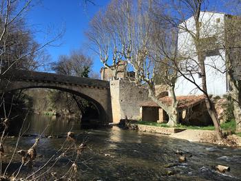 Le pont sur l'Argens