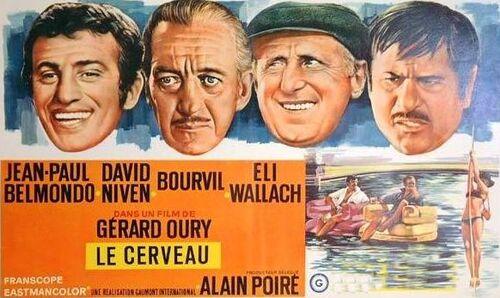 """Le rail au cinéma= Film """"Le cerveau""""!"""