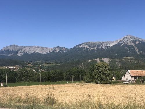 Le chemin Jean Proal (Seyne les Alpes)
