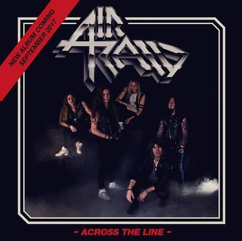 AIR RAID - Les détails du nouvel album