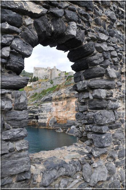 Italie, les 5 Terres : Portovenere, le château Doria