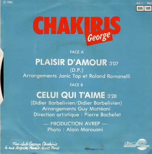 George Chakiris - Plaisir D'Amour 02