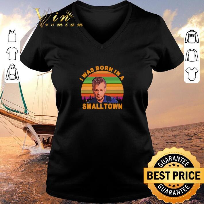 Original John Mellencamp I was born in a small town sunset shirt