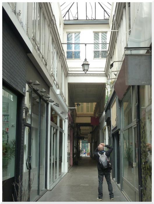 Passage du Ponceau. Paris